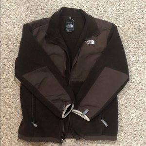 """Chocolate brown """"The North Face"""" Girls XL Jacket"""